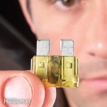 Mass Air Flow Sensor (MAF) Cleaning The Family Handyman