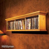How to Build a Wall Cabinet for DVDs | The Family Handyman