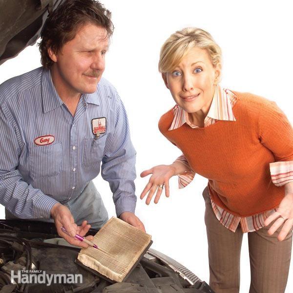 Car Maintenance Air Filter Check  PCV Valves Family Handyman