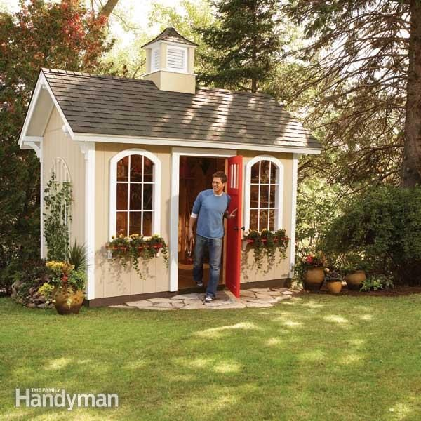 How to Build a Shed on the Cheap u2014 The Family Handyman - garden shed design