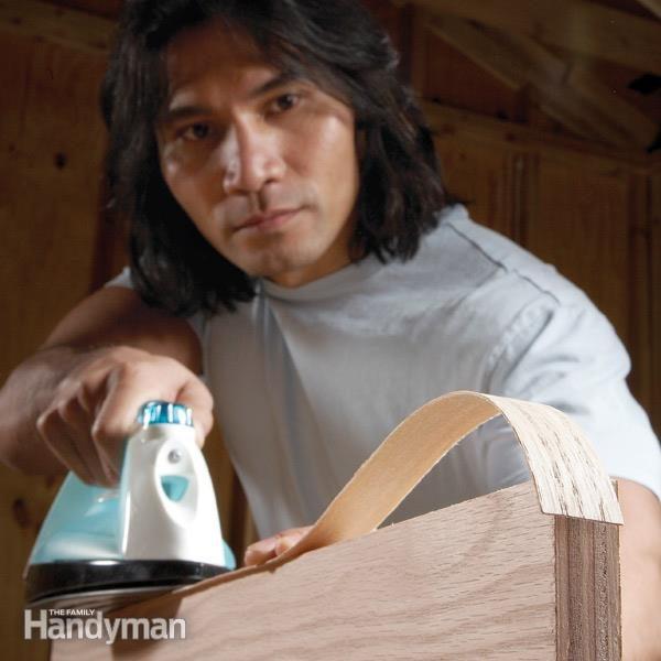 Banding With Iron On Veneer Edging The Family Handyman