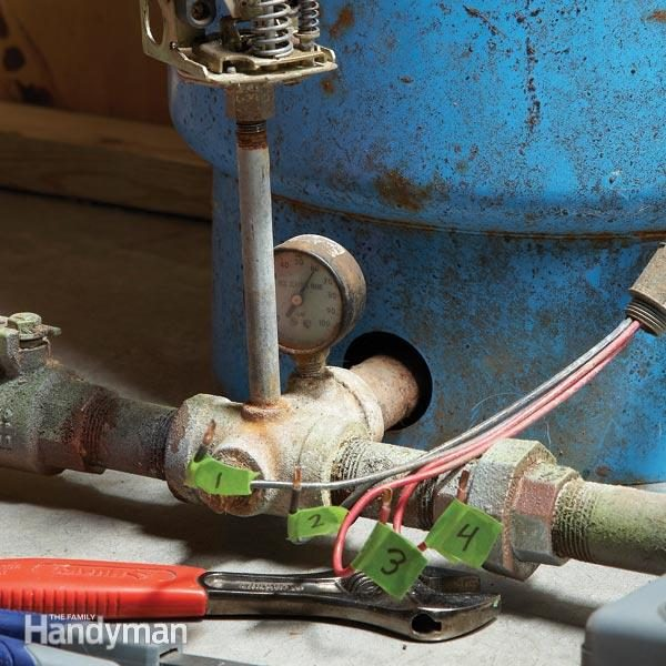 How to Replace a Well Pump Pressure Switch The Family Handyman