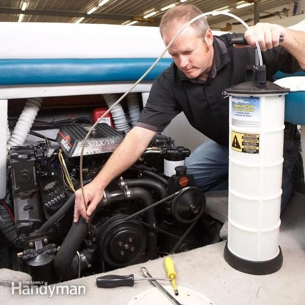 Winterize Your Boat The Family Handyman