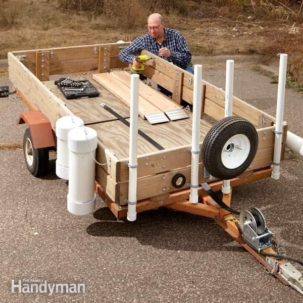 Utility Trailer Upgrades The Family Handyman