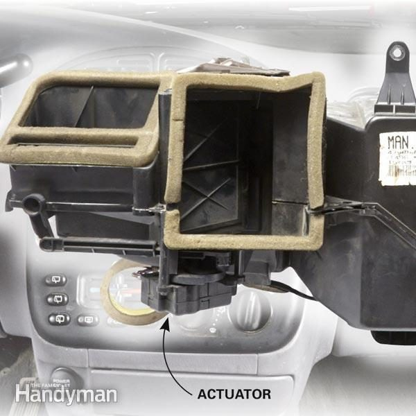 Car Heater Blowing Cold Air? Check the Actuator The Family Handyman