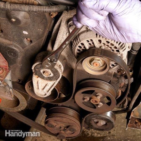 Changing a Car Serpentine Belt DIY Car Serpentine Belt Replacement