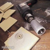 How to Cut a Hole in Tile | The Family Handyman