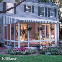 How to Build a Screened In Patio | Family Handyman