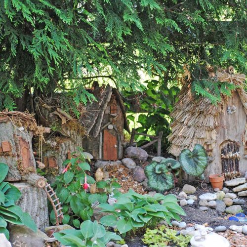 Medium Of Gnome Garden Village