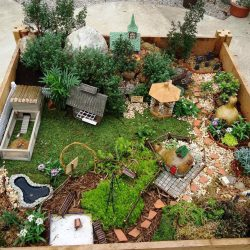 Small Of Fairy Garden Planter Box