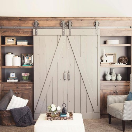 Medium Of Double Barn Doors