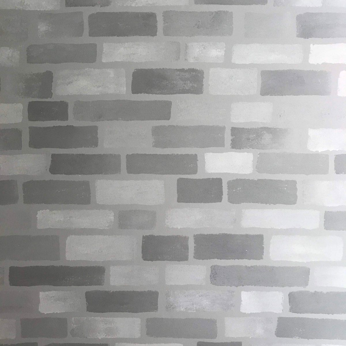 Create A Faux Brick Accent Wall With Paint Family
