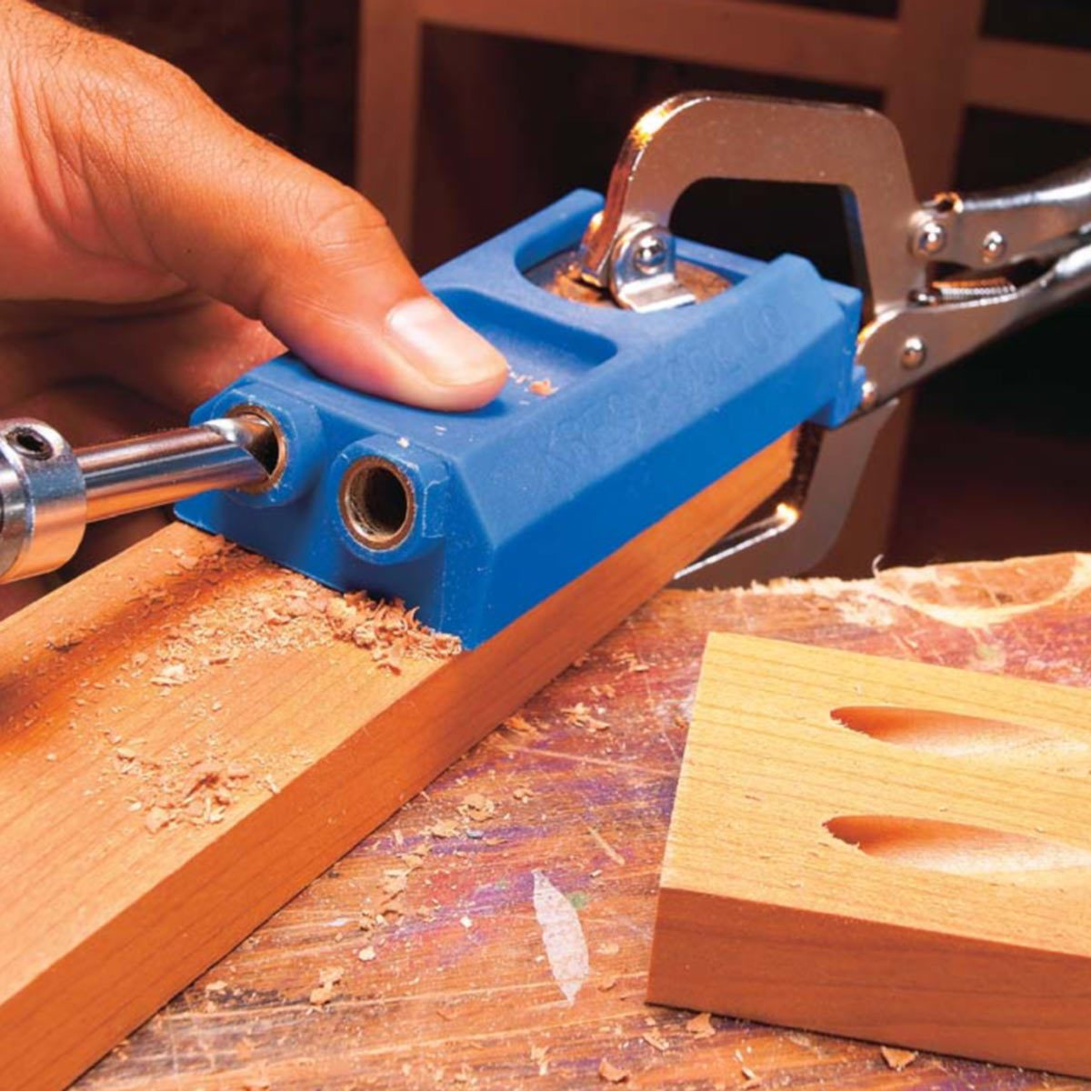 Learn How To Use Pocket Screws Family Handyman The