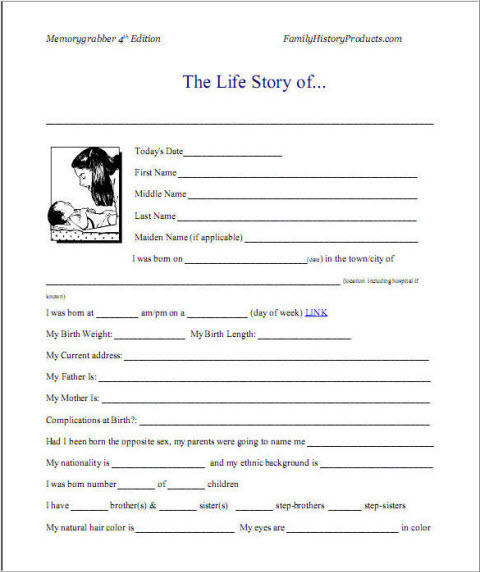 Sample Autobiography and Example of Autobiography Activities to Do - Sample Biography Timeline
