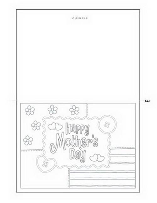 mother day card template - Funfpandroid