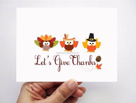 Different Ideas for Homemade Thanksgiving Cards - family holidaynet