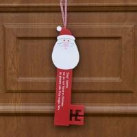 Homemade Christmas Door Hanger Decoration Ideas - family ...