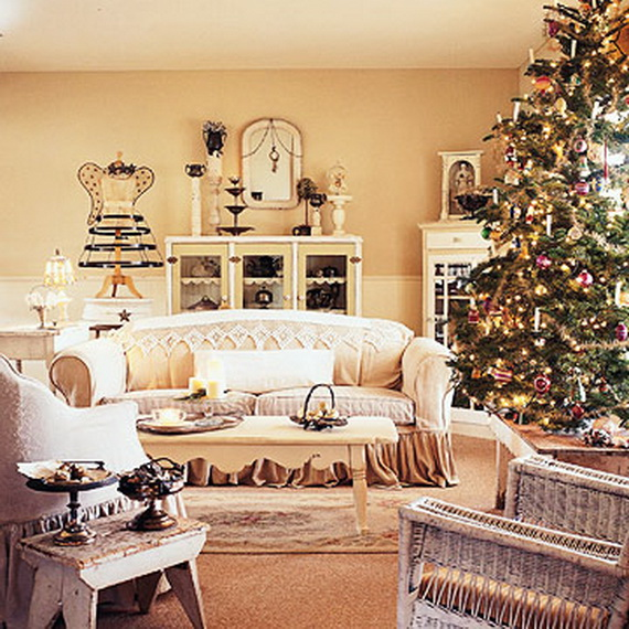 White Christmas Decorating Ideas - family holidaynet\/guide to - christmas room decorations