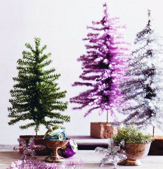 Beautiful Tabletop Christmas Trees Decorating Ideas \ Designs - small decorated christmas trees