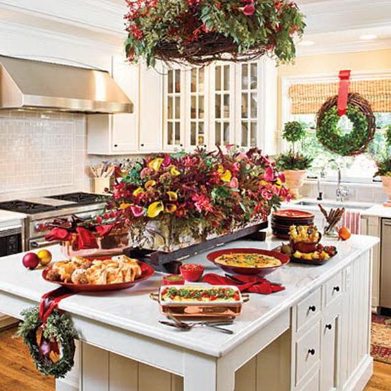Unique Kitchen Decorating Ideas for Christmas - family holidaynet - christmas kitchen decor