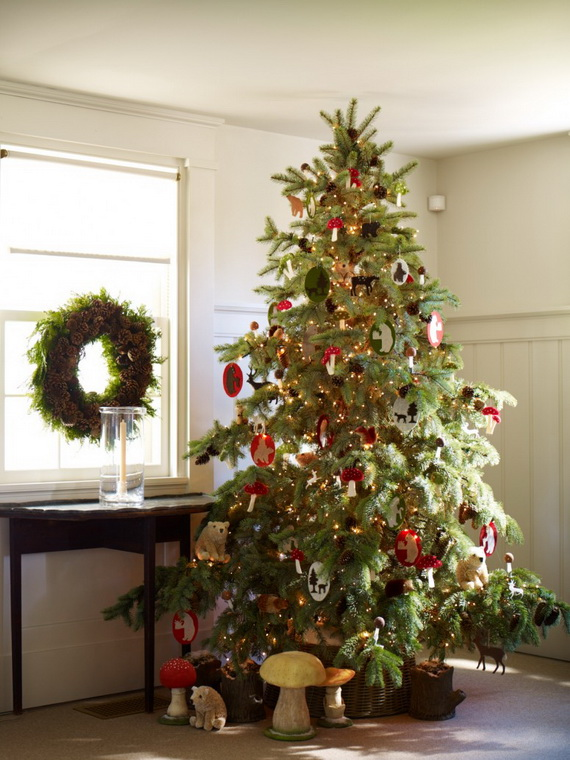 50 Beautiful Christmas Home Decoration Ideas From Martha Stewart - christmas home decor ideas