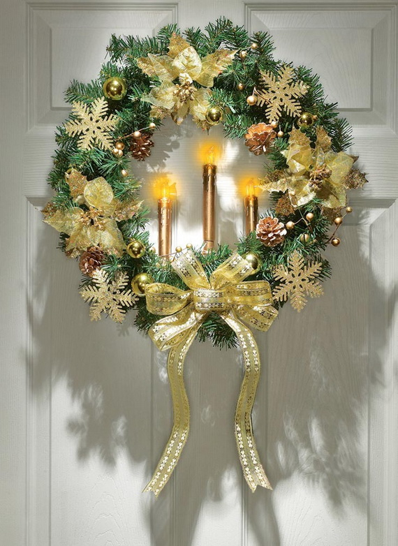 47 Great Christmas Wreath Ideas To Keep The Traditions Alive - christmas wreath decorations