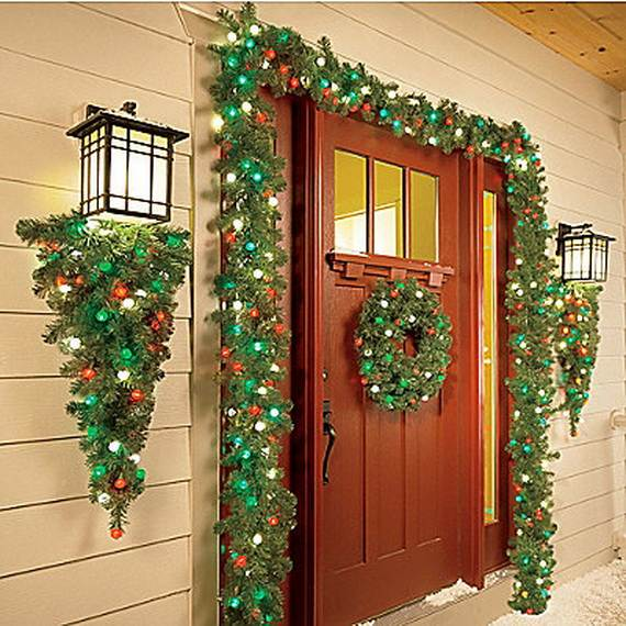 60 Trendy Outdoor Christmas Decorations - family holidaynet\/guide - christmas decorations for outside