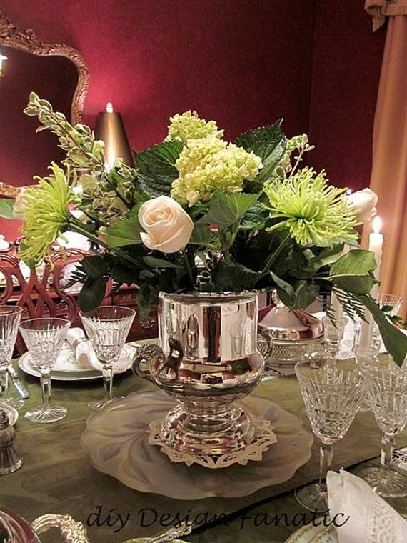 Gorgeous Christmas Floral Arrangements - family holidaynet\/guide - christmas floral decorations