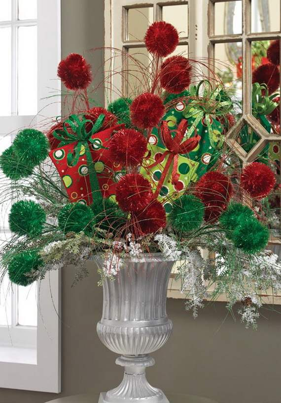 Gorgeous Christmas Floral Arrangements - family holidaynet/guide to