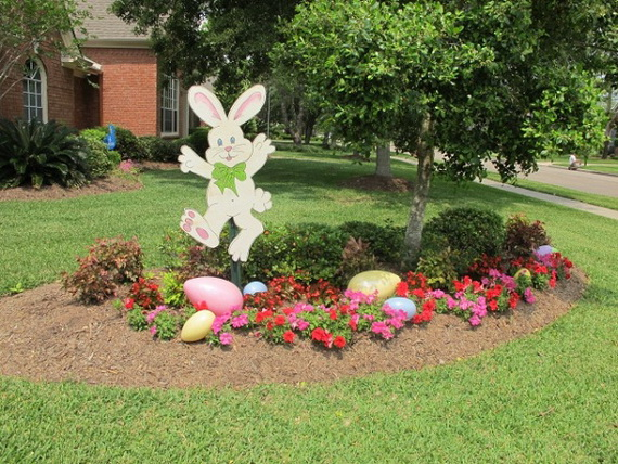 Outdoor Easter Decorations 60 Ideas For A Special