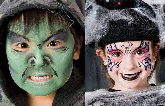 Pretty And Scary Halloween Makeup Ideas For The Whole