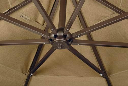6 Light Vega Umbrella Lamp