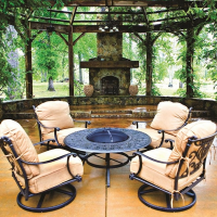 Grand Tuscany - Fire Pit Set by Hanamint