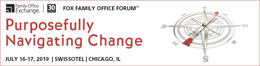 2019 FOX Family Office Forum Agenda Family Office Exchange