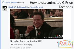 Saying it with GIFs