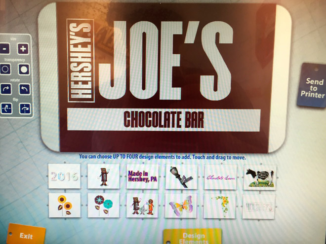 Create Your Own Candy Bar at Hershey\u0027s Chocolate World Family