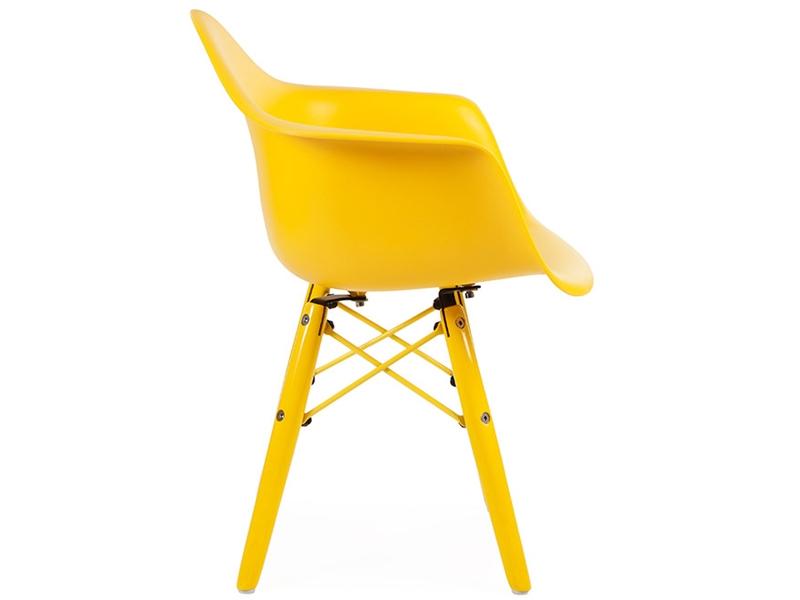 Eames chair kinderstuhl trendy kinder holzsockel baby for Design stuhl replik