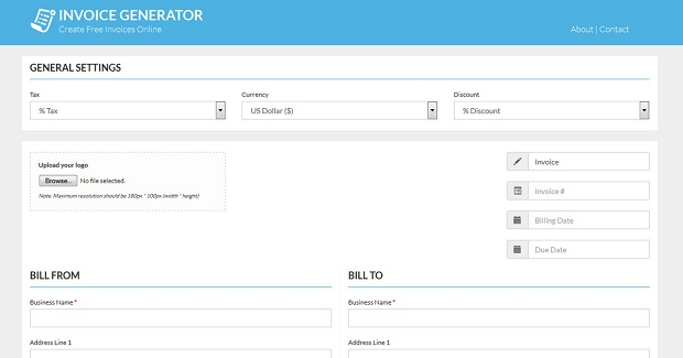 Free Invoice Creator for Freelancers and Small Business Owners - free invoice creator