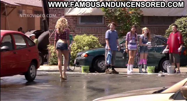 Cameron Diaz Bad Teacher Car Wash Celebrity Actress Famous