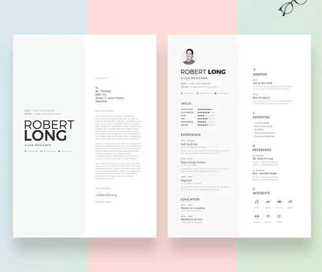 Creative Resume and Cover Pages \u2013 Fancy Resumes