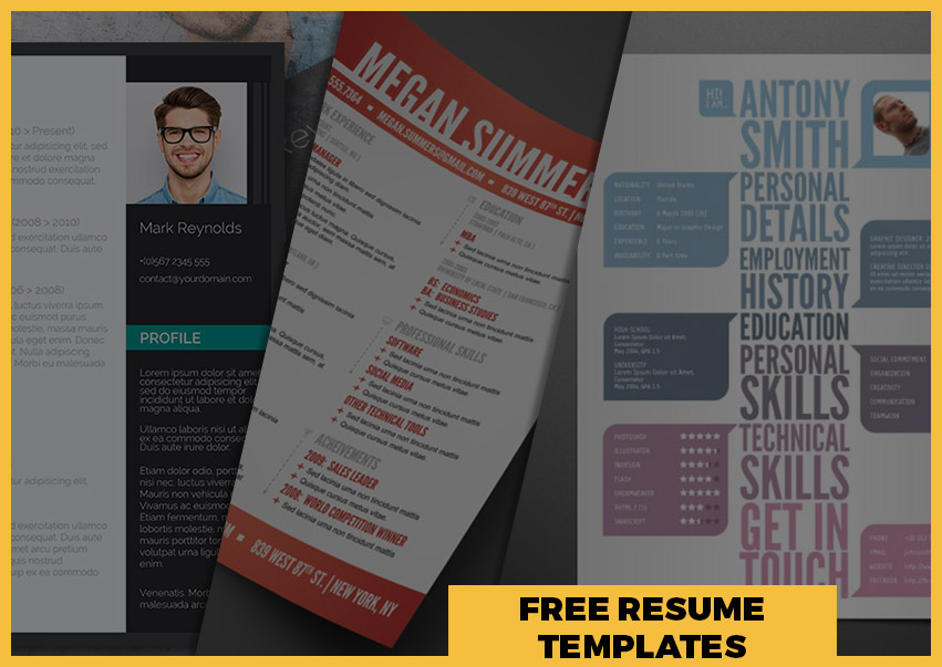 Best Free Resume Templates Around the Web \u2013 Fancy Resumes - Modern Resume Templates