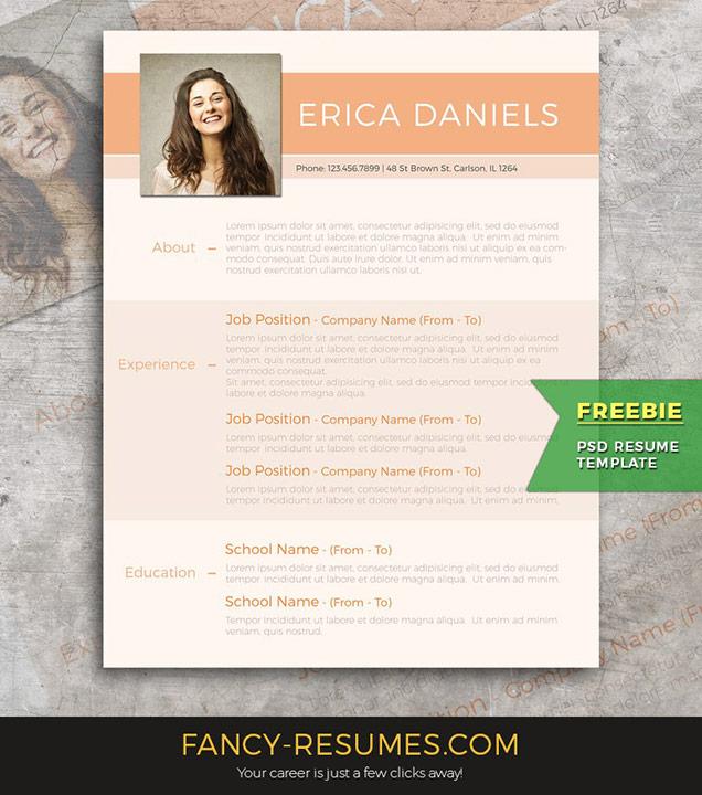 Best Free Resume Templates Around the Web \u2013 Fancy Resumes