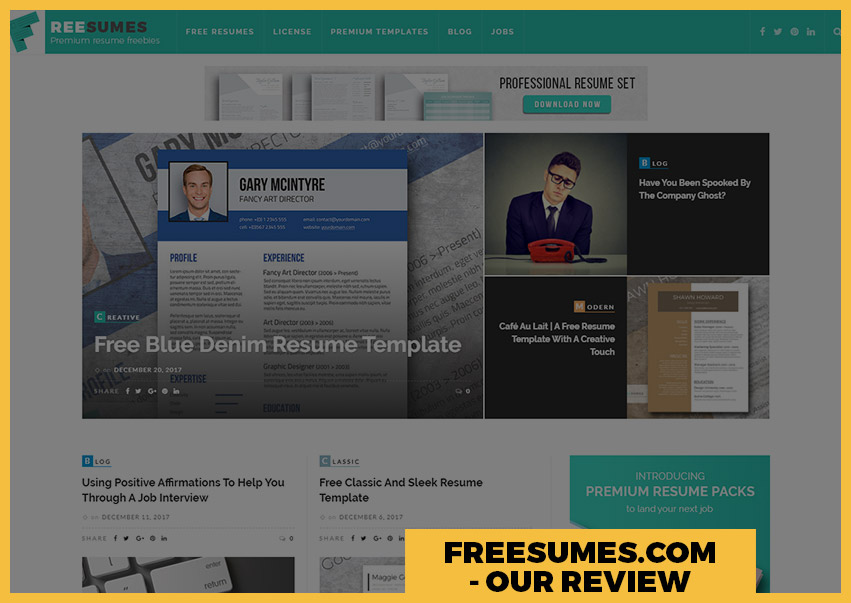Our Freesumes Review - Free Professional Resumes \u2013 Fancy Resumes - resume com review