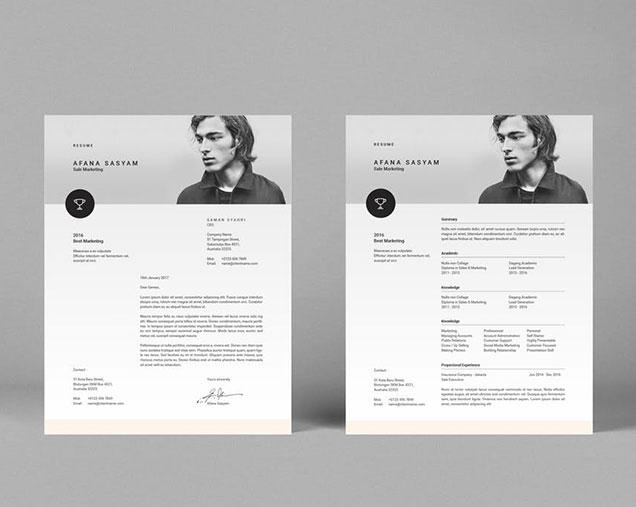 InDesign Resume Template \u2013 Fancy Resumes
