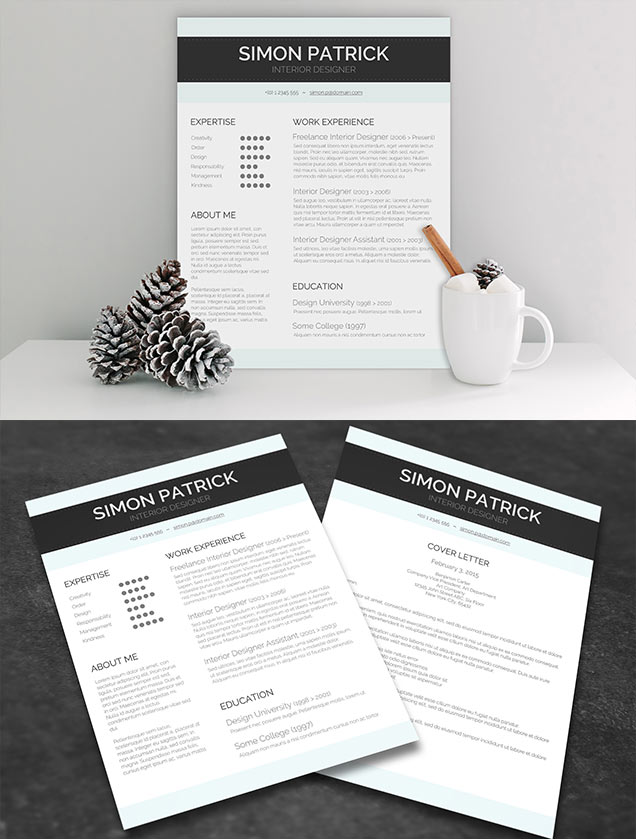 Smart Word CV and Cover Letter \u2013 Fancy Resumes