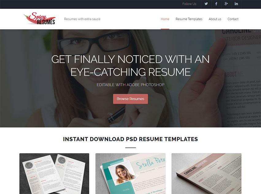 Spicy Resumes A New and Exciting Way to Design Your CV \u2013 Fancy Resumes