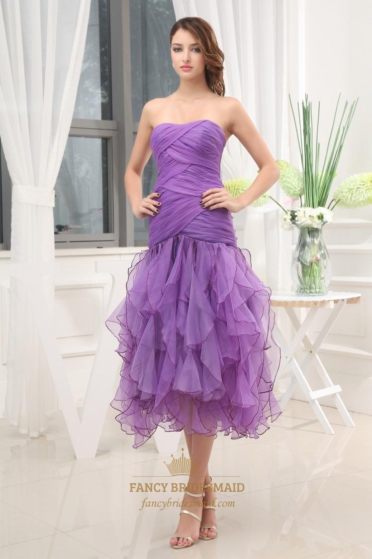 Fullsize Of Tea Length Formal Dresses