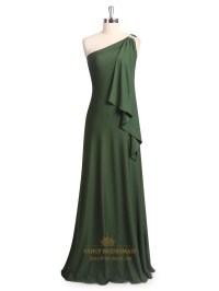 Green Chiffon Bridesmaid Dresses - Wedding Dresses In Jax