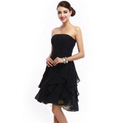 Small Crop Of Black Bridesmaid Dresses
