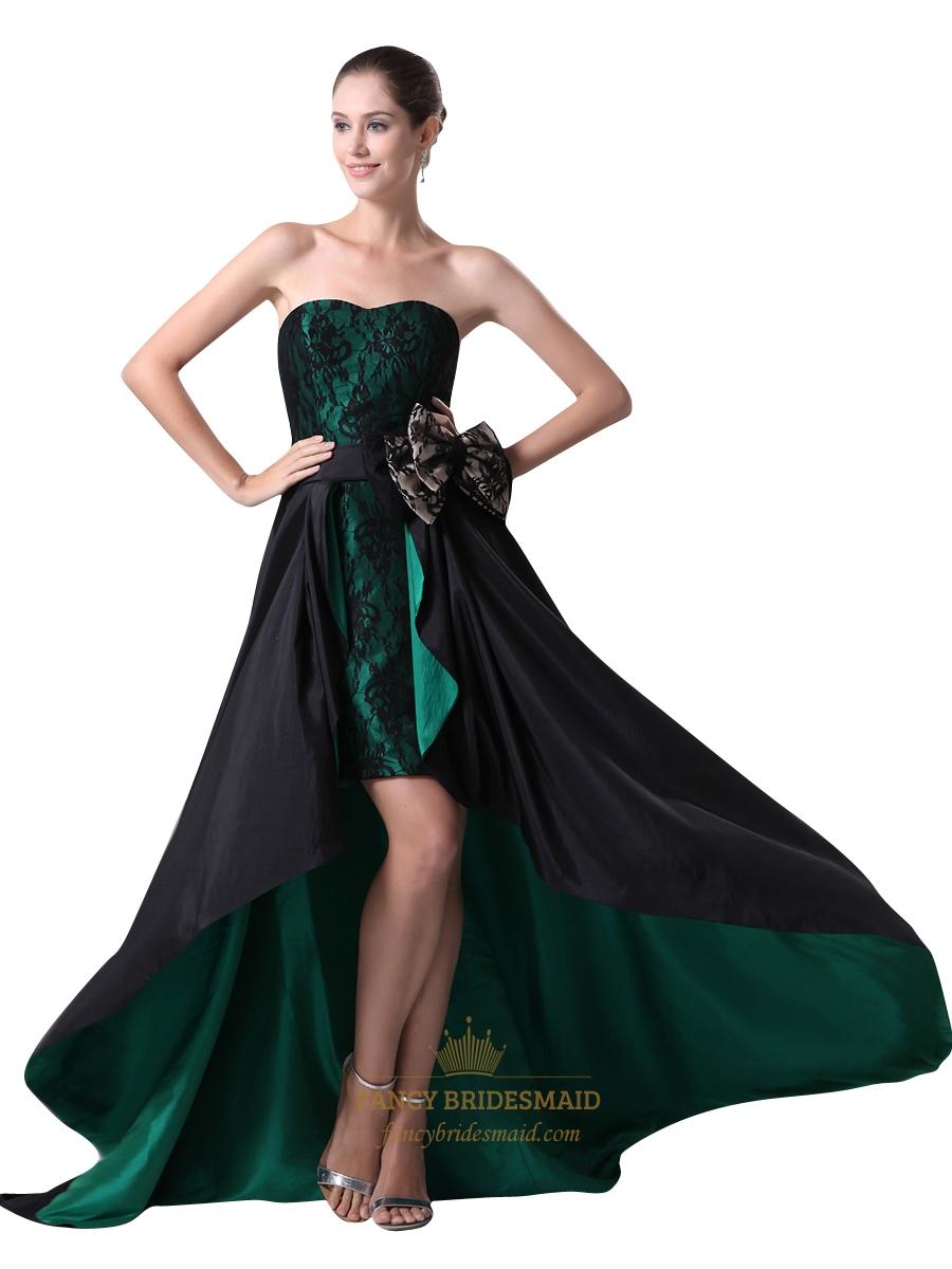 Fullsize Of Black Strapless Dress